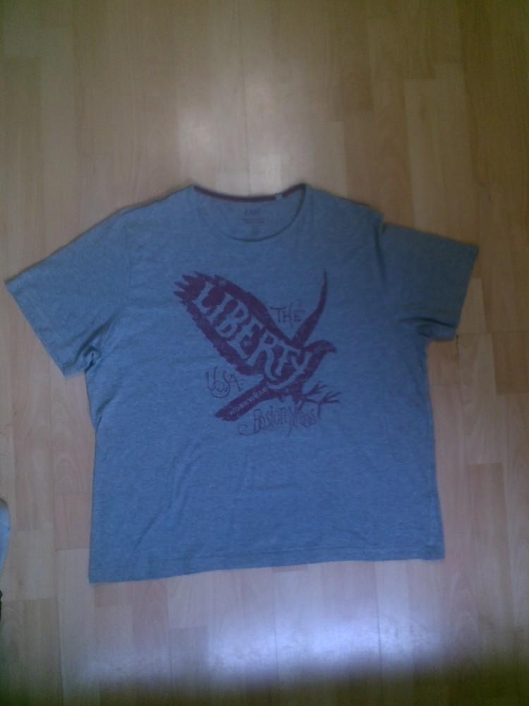 Фирменная футболка XXXL фото №1