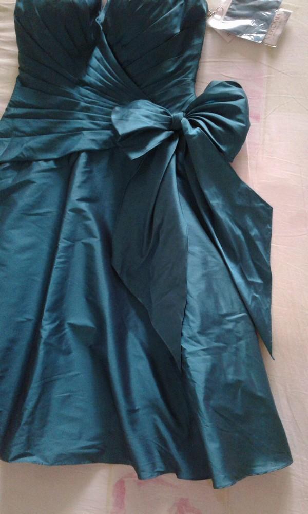 Продам новое праздничное платье женское размер 14 англ. фото №3