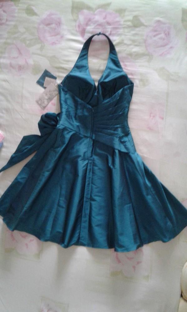 Продам новое праздничное платье женское размер 14 англ. фото №6