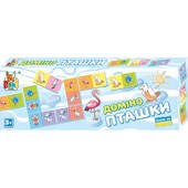 """Настольная игра """"Домино птички"""" 0219 Boni Toys"""