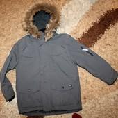 Куртка зима на мальчика 134-140 р