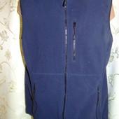 Флисовая стильная желетка жилет бренд Lands`End м .унисекс .