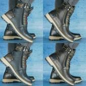 Ботинки Zangak Exclusive кожаные на меху, р. 40-45. код gavk-10543