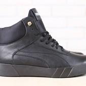 Мужские зимние, ботинки в стиле Puma, р. 40,42,43,45, код nvk-2887