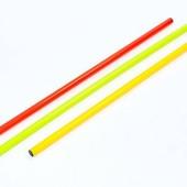 Палка гимнастическая тренировочная 2025-1: 3 цвета, длина 100см