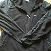Флисовая фирменная кофта Nike р.-48L