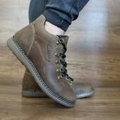 Мужские зимние ботинки Clarks Yuves olive