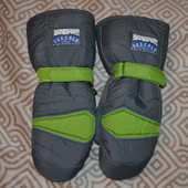 мужские лыжные термо рукавицы варежки Icecold США 9  размер  S-M