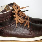 кожаные ботинки 24.7 см