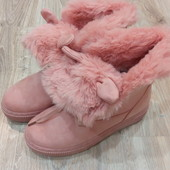 Ботинки зима Violetta. Р-ры 37-41. Реальные фото и фото на ноге.