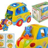 Машинка Автошка  LimoToy,сортер,музыка,обучение,звуки