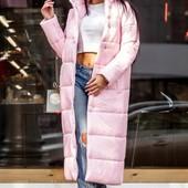 5П832 Женское стильное пальто на силиконе (единый размер)