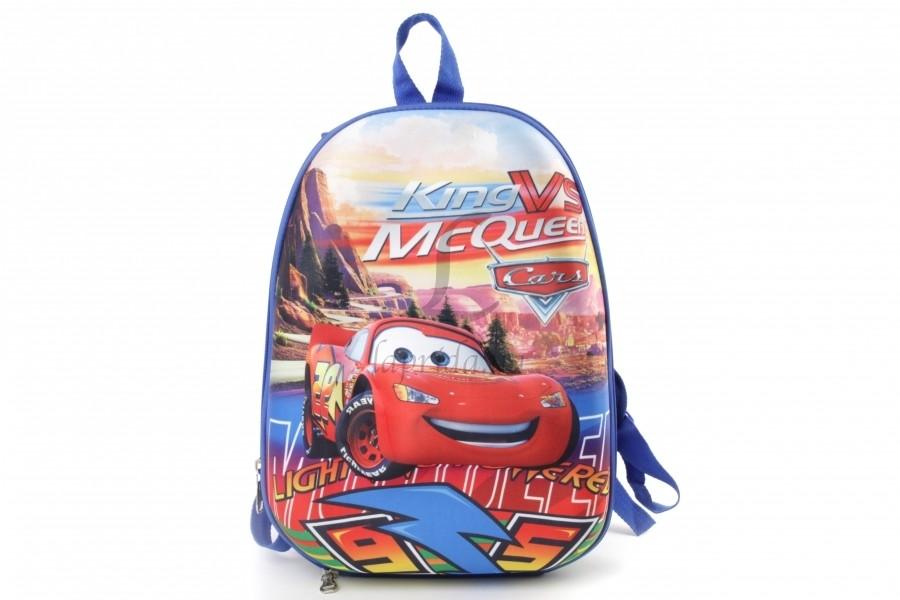 Рюкзак дошкольный тачки на толстых лямочках, чемодан фото №1