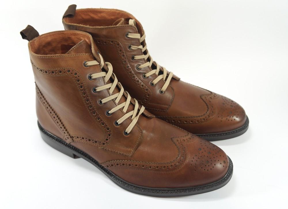 Ботинки stafford. оригинал. кожа. англия. фото №1 4c38ba497e986