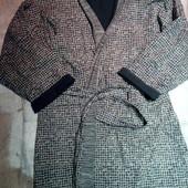 Мужской халат на махровой подкладке р.хл в отличном состоянии