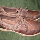 Туфли Skechers,р.45-46 стелька 30см Кожа