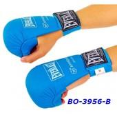 Накладки перчатки для карате PU Everlast BO-3956 манжет на резинке