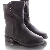 Зимние теплые женские ботинки