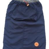 2-4 г тёплая юбка на флисе с карманами