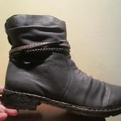 Женские зимние ботинки rieker р. 42. Оригинал
