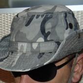 Стильная фирменная панама милитари хаки ALS л-хл