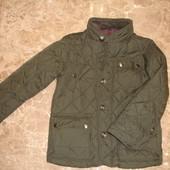 Фирменная Next стильная деми куртка мальчику 7-8 лет идеал