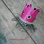 Бомбові корони для маленьких принцес Ручна робота