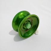 Йо йо , металл. с подшипником  цвет  зеленый  yo yo, ёо ёо, ёё