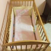 Детская кроватка Верес+весь набор