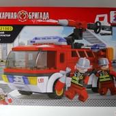 Новый конструктор пожарная бригада аналог лего качество отличное