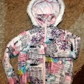 Куртка на девочку 134 р