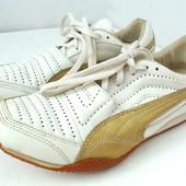 Брендовые белые кроссовки Puma.Размер 38.