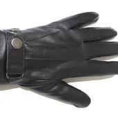 Перчатки мужские ( подросток) натуральная кожа,мех.