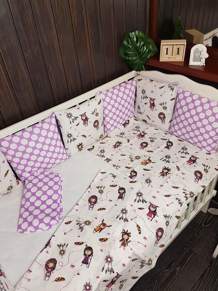 Постельное в кроватку фото №2