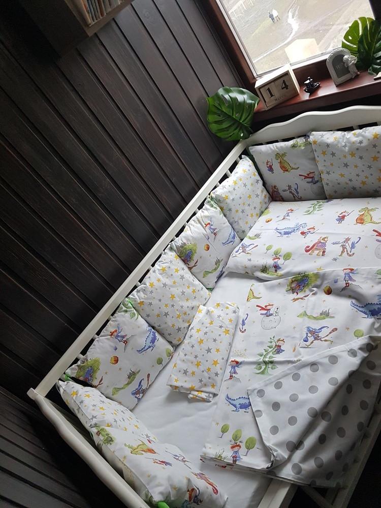 Постельное в кроватку фото №3