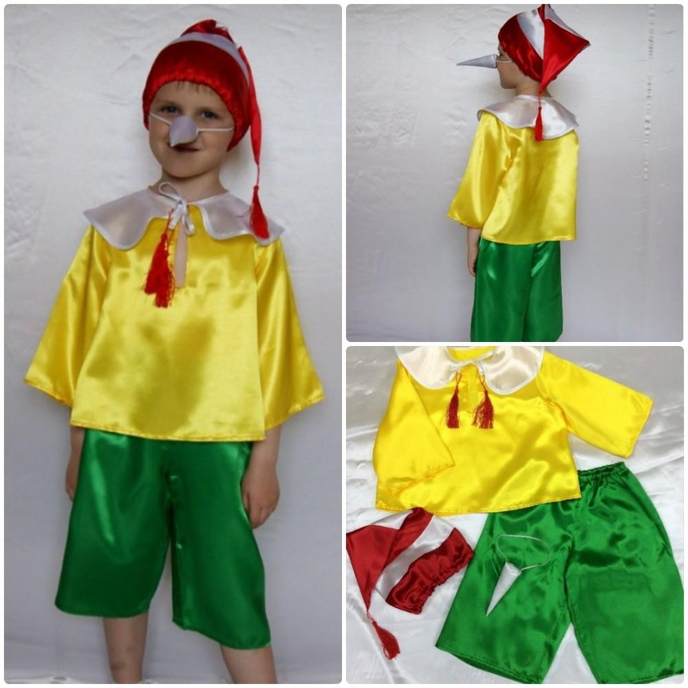 Детский карнавальный новогодний костюм буратино фото №1 08c334d02ce1a