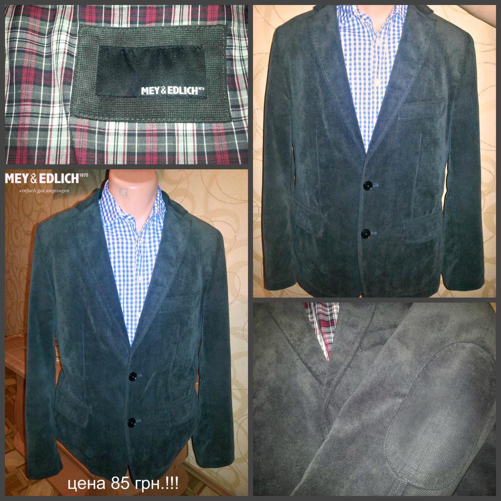 Пиджак вельветовый, сток новый!! р.48 фото №1