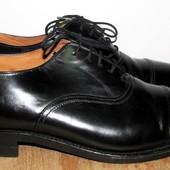 кожаные туфли 24.5 см
