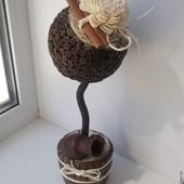 Топиарий -дерево декоративное подарок декор