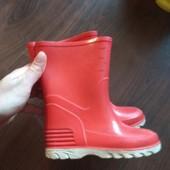 Гумові чоботи 24 розмір.