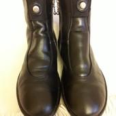 Брендовые кожаные утепленные ботинки Think! ( Австрия) р. 38 стелька 24,5 см