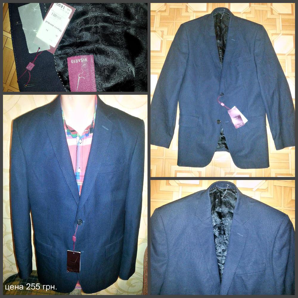 Итальянский пиджак, цена на бирке 200 евро фото №1