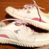 Кожаные кроссовки от Klarks