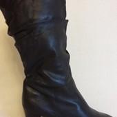 Кожаные утепленные сапоги фирмы Freeflex p. 41 стелька 27 см