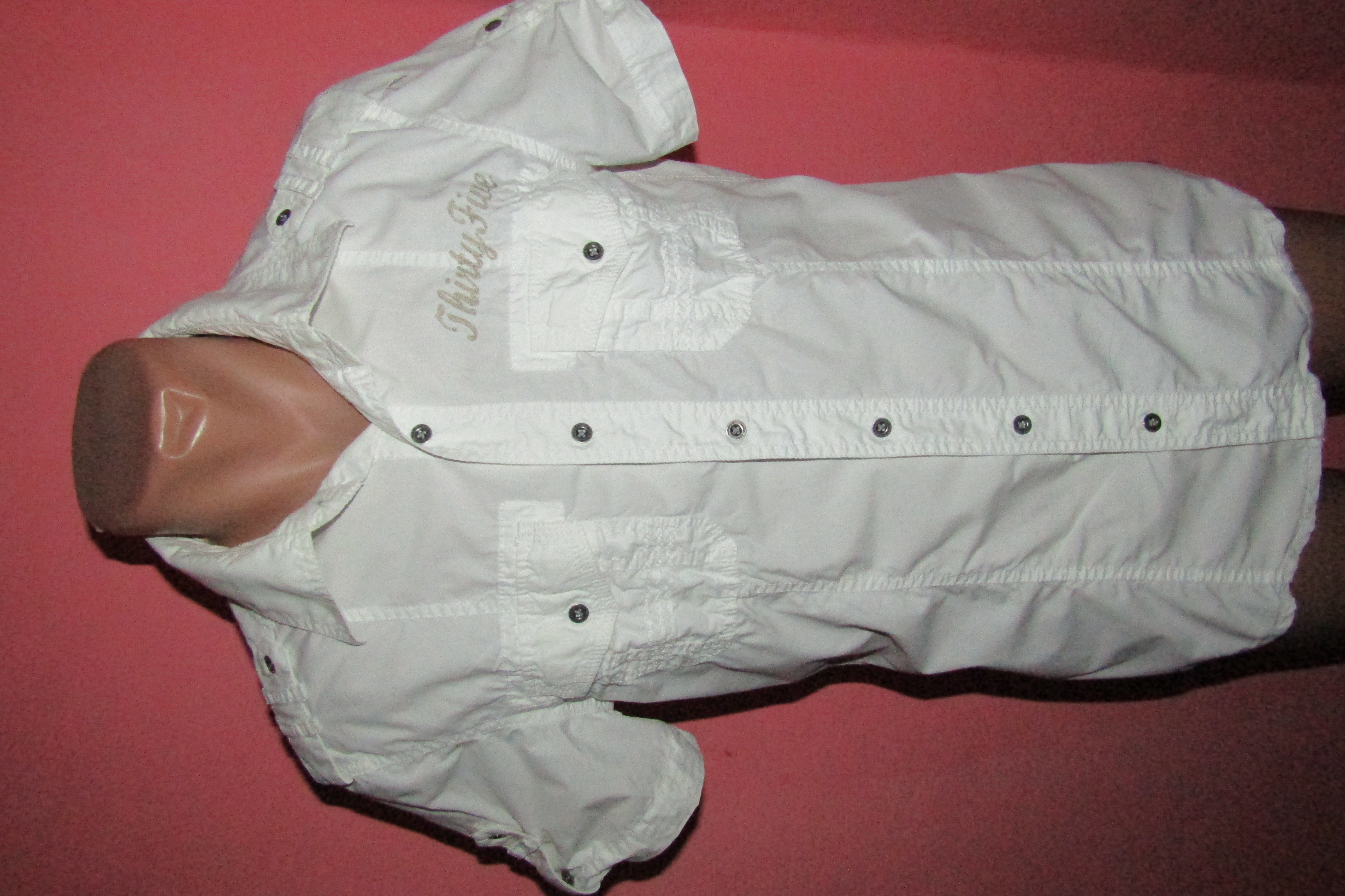 рубашка мужская р-р S-М бренд edc