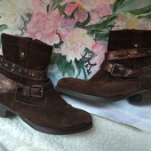 Замшевые ботинки Tamaris 23.5см Германия