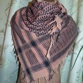 Фирменная стильная Арафатка, шемаг, куфия, арабский платок, армейский шарф.Єгипет .