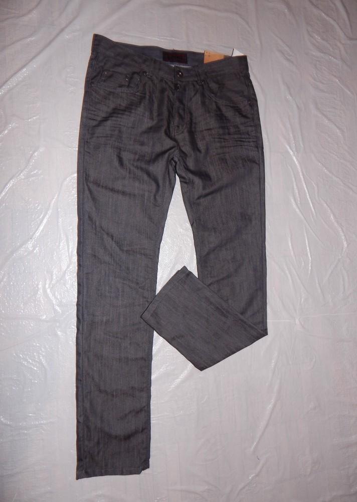 W31 L32, поб 46-48 узкачи! джинсы мужские слимы, новые с бирками! фото №1