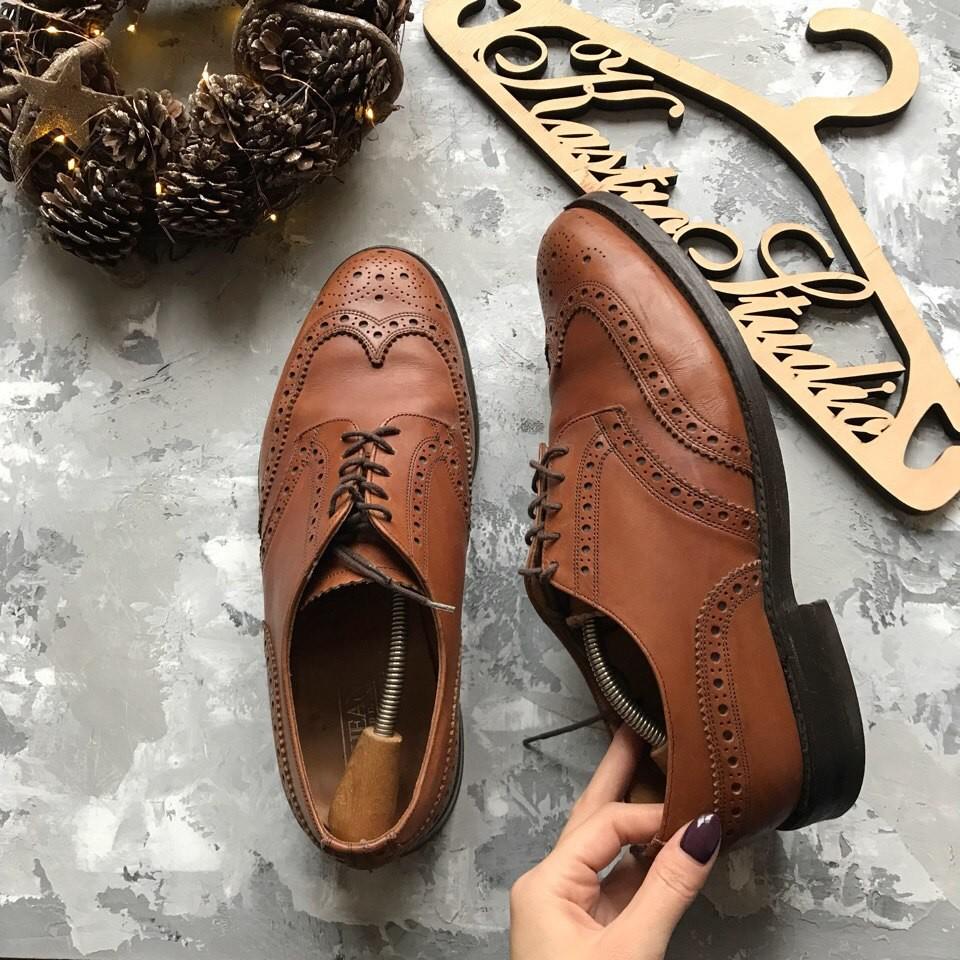 Мужские туфли броги Cheaney рр 45 фото №1