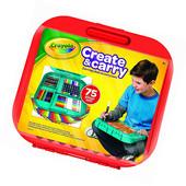 Набор для рисования Crayola Create 'n Carry Case